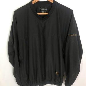 Footjoy FJ V-Neck Pullover Jacket Black Medium Men